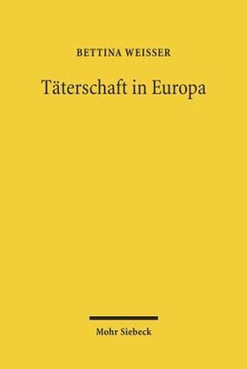 Weißer | Täterschaft in Europa | Buch