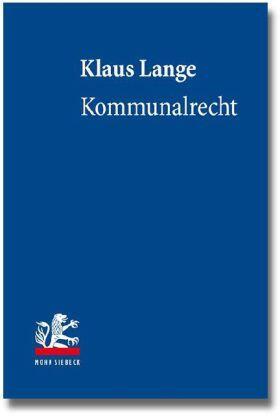 Lange | Kommunalrecht | Buch