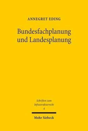 Eding | Bundesfachplanung und Landesplanung | Buch