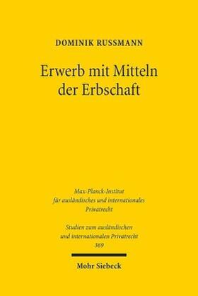 Rußmann | Erwerb mit Mitteln der Erbschaft | Buch