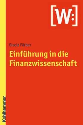 Einführung in die Finanzwissenschaft