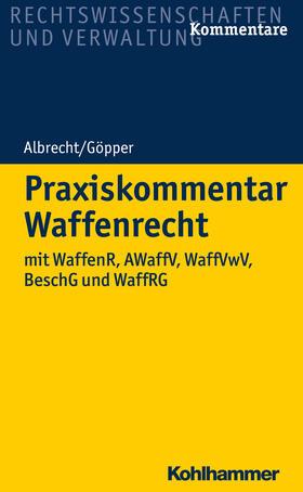 Scholzen / Albrecht / Fuchs | Praxiskommentar Waffenrecht | Buch