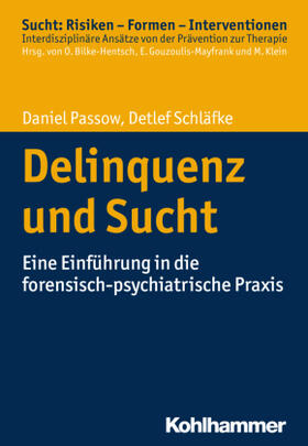 Passow/Schläfke | Delinquenz und Sucht | Buch