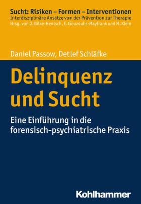 Passow / Schläfke | Delinquenz und Sucht | Buch