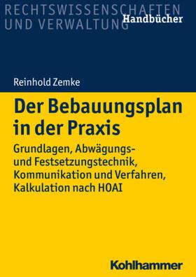 Zemke | Der Bebauungsplan in der Praxis | Buch