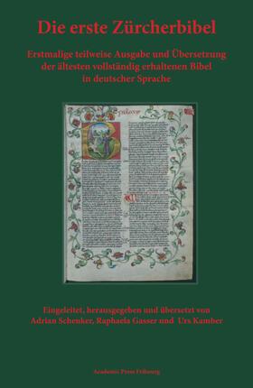 Die erste Zürcherbibel