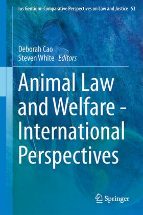 Cao/White | Animal Law and Welfare - International Perspectives | Buch