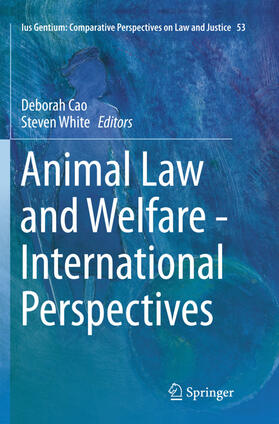 Cao / White | Animal Law and Welfare - International Perspectives | Buch
