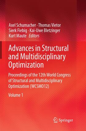 Advances in Structural and Multidisciplinary Optimization