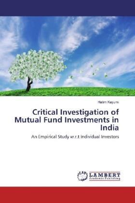 Kayumi | Critical Investigation of Mutual Fund Investments in India | Buch