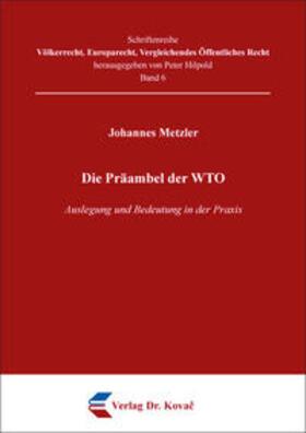 Die Präambel der WTO