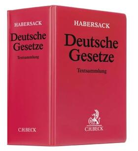 Deutsche Gesetze, mit Fortsetzungsbezug