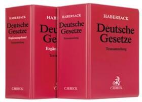 Deutsche Gesetze: Kombination, mit Fortsetzungsbezug
