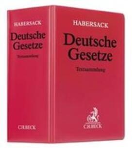 Deutsche Gesetze, ohne Fortsetzungsbezug