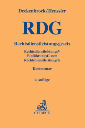 Rechtsdienstleistungsgesetz: RDG