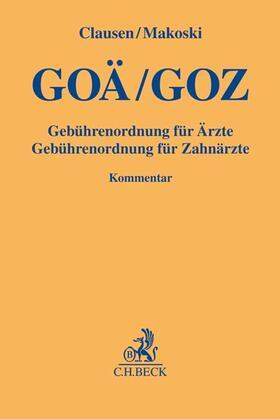 Clausen / Makoski | GOÄ/GOZ | Buch