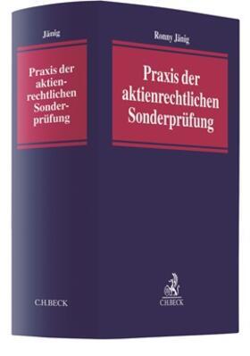 Jänig | Praxis der aktienrechtlichen Sonderprüfung | Buch