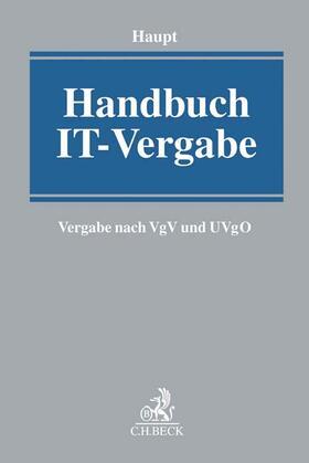 Haupt | Handbuch IT-Vergabe | Buch