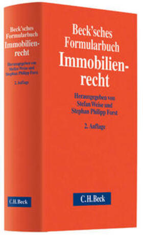 Weise/Forst | Beck'sches Formularbuch Immobilienrecht | Buch