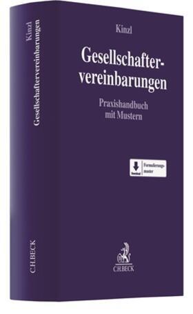 Kinzl | Gesellschaftervereinbarungen | Buch