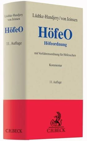 Lange / Wulff / Lüdtke-Handjery | Höfeordnung: HöfeO | Buch