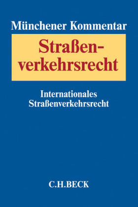 Buse / Staudinger | Münchener Kommentar zum Straßenverkehrsrecht | Buch