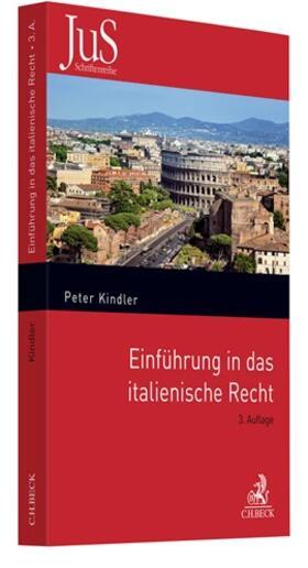 Kindler | Einführung in das italienische Recht | Buch