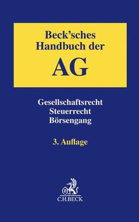 Drinhausen / Eckstein | Beck'sches Handbuch der AG | Buch