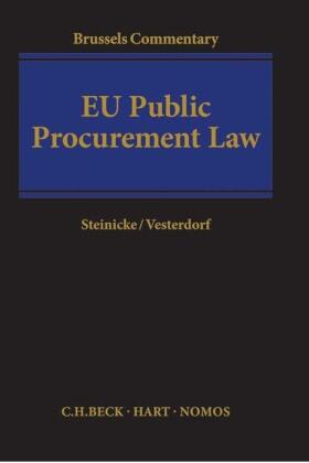 Steinicke / Vesterdorf | EU Public Procurement Law | Buch