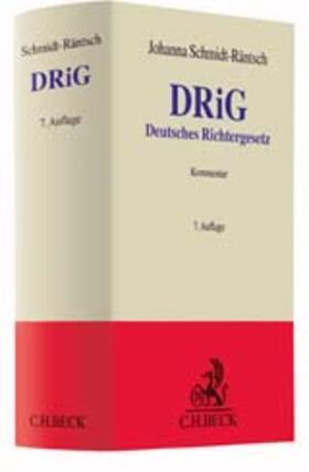 Deutsches Richtergesetz: DRiG