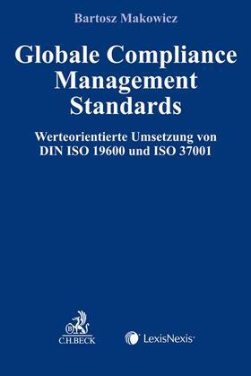 Makowicz | Globale Compliance Management Standards | Buch