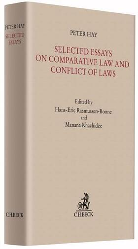 Hay / Rasmussen-Bonne / Khachidze | Selected Essays on Comparative Law and Conflict of Laws | Buch