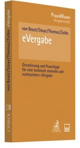 Beust / Stoye / Thomas   eVergabe   Buch