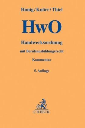 Handwerksordnung: HwO
