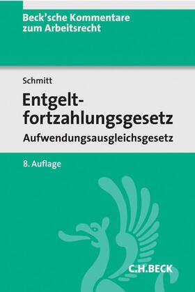 Entgeltfortzahlungsgesetz, Aufwendungsausgleichsgesetz: EFZG AAG