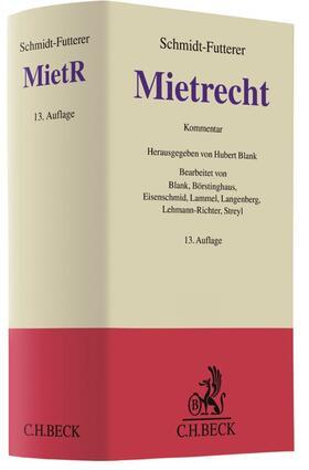 Schmidt-Futterer | Mietrecht: MietR | Buch