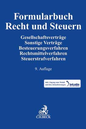 Formularbuch Recht und Steuern | Buch