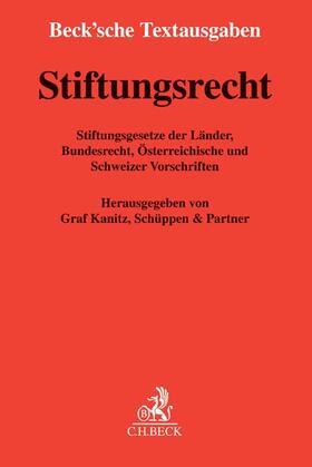Graf Kanitz, Schüppen & Partner | Stiftungsrecht | Buch