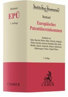 Europäisches Patentübereinkommen: EPÜ