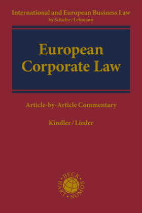 Kindler | Corporate Law | Buch