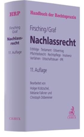 Firsching/Graf | Nachlassrecht | Buch