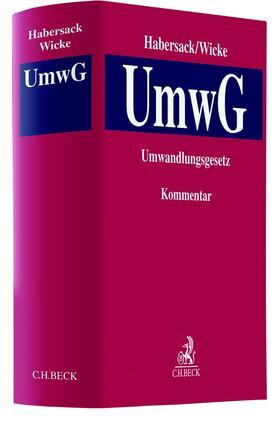 Habersack/Wicke | UmwG: Umwandlungsgesetz | Buch