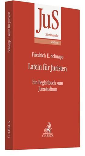 Schnapp | Latein für Juristen | Buch