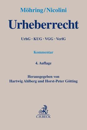 Ahlberg/Götting | Urheberrecht: UrhG | Buch