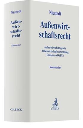 Niestedt | Außenwirtschaftsrecht: AWG, AWV, Dual use VO | Buch