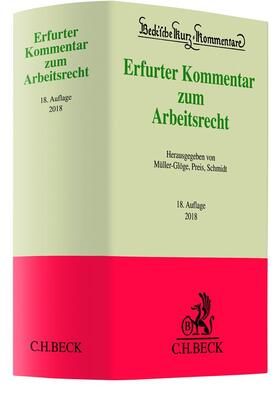 Müller-Glöge/Preis/Schmidt | Erfurter Kommentar zum Arbeitsrecht | Buch