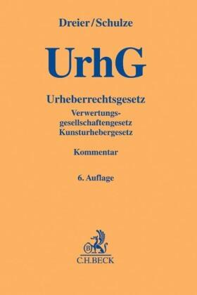 Dreier/Schulze | Urheberrechtsgesetz: UrhG | Buch