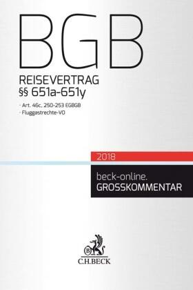 BGB Reisevertrag
