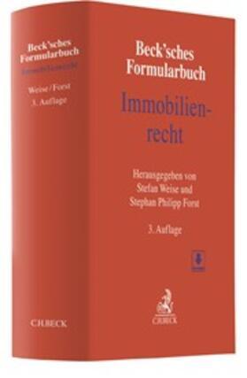 Weise / Forst | Beck'sches Formularbuch Immobilienrecht | Buch