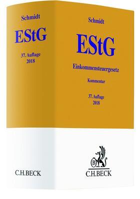 Schmidt | Einkommensteuergesetz: EStG | Buch